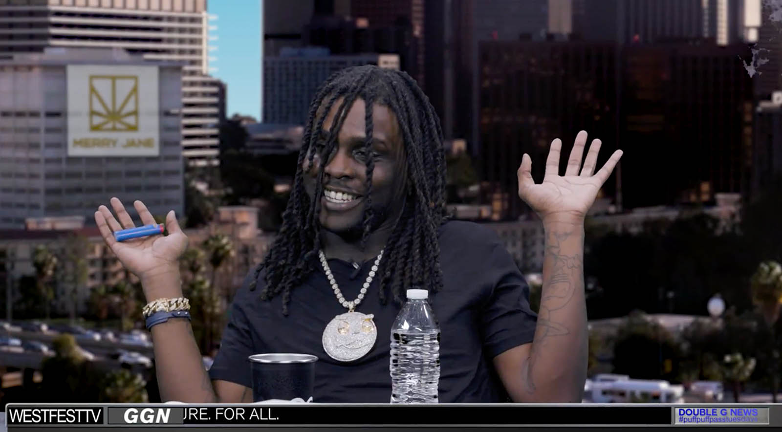 "Chief Keef on His Favorite Ice Cream & Why ""Drill"" Music Has Nothing To Do With Marching Band"