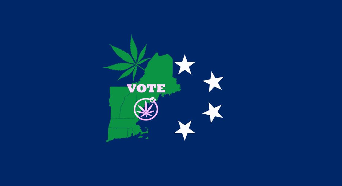 New England Looking to Legalize Recreational Marijuana