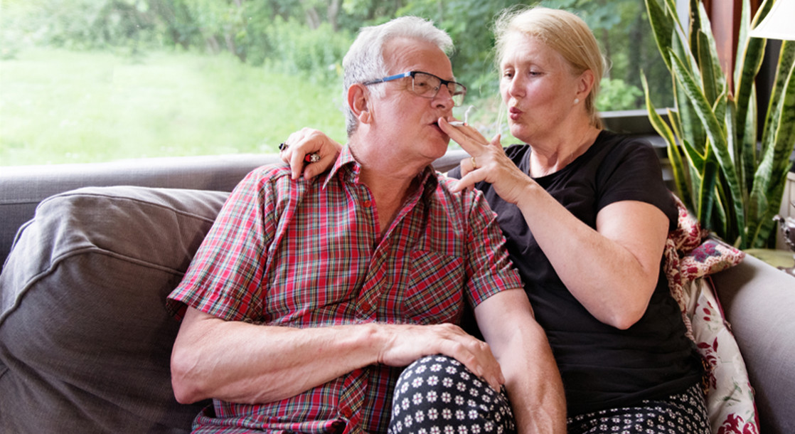 Boomers Smoking More Pot Than Ever Wide