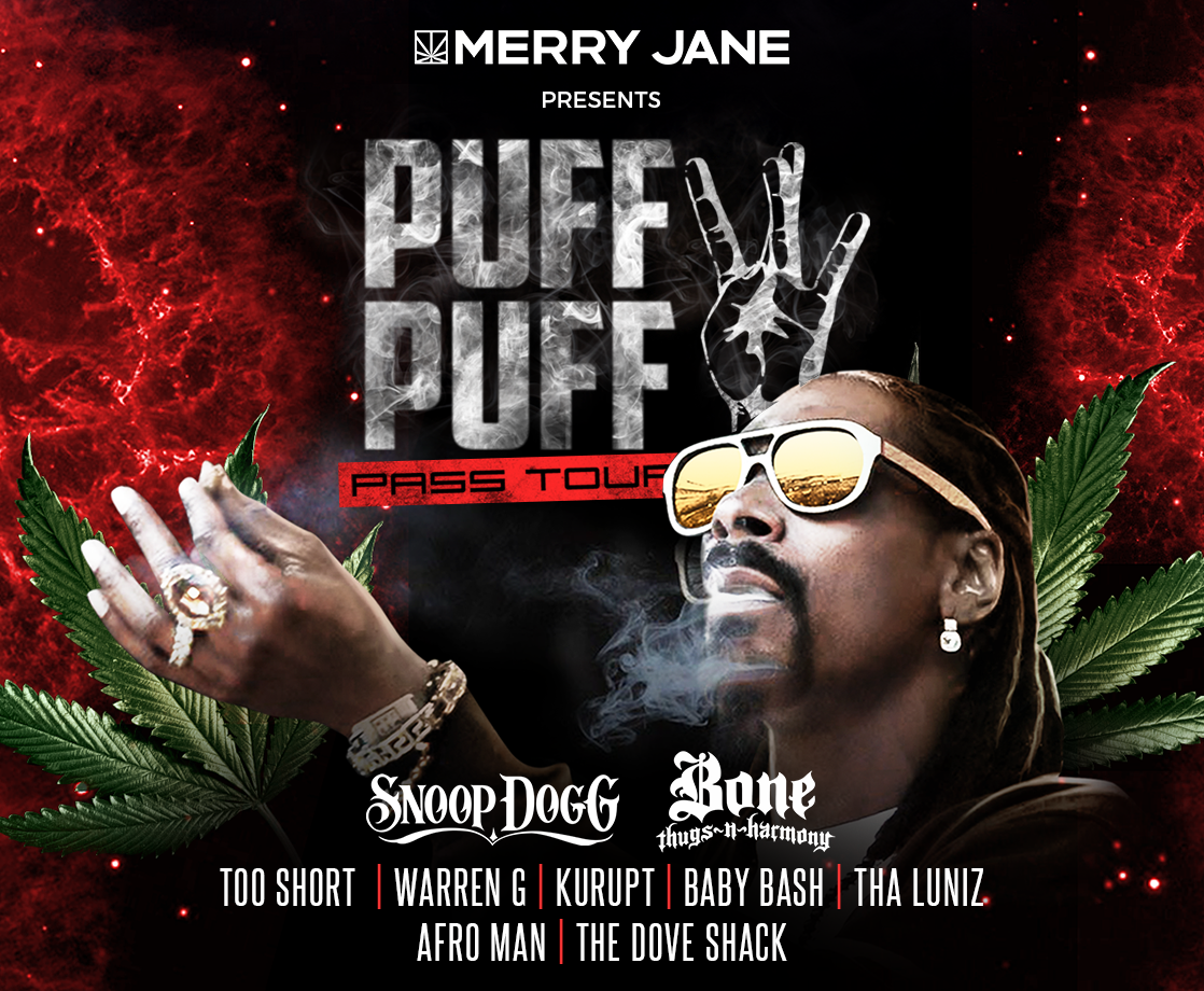 Catch Snoop Dogg On The 2018 Puff Puff Pass Tour Presented By