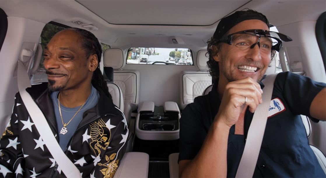 "Snoop and Matthew McConaughey on ""Carpool Karaoke"" Will Make Your Week Better"