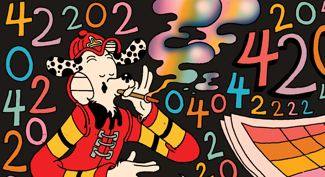 Frisbee F.D. Explains the Hazy History of 420 in This Special Holiday Comic