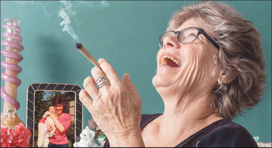 Silver and Green: Senior Citizens Get Lit on 4/20, Too