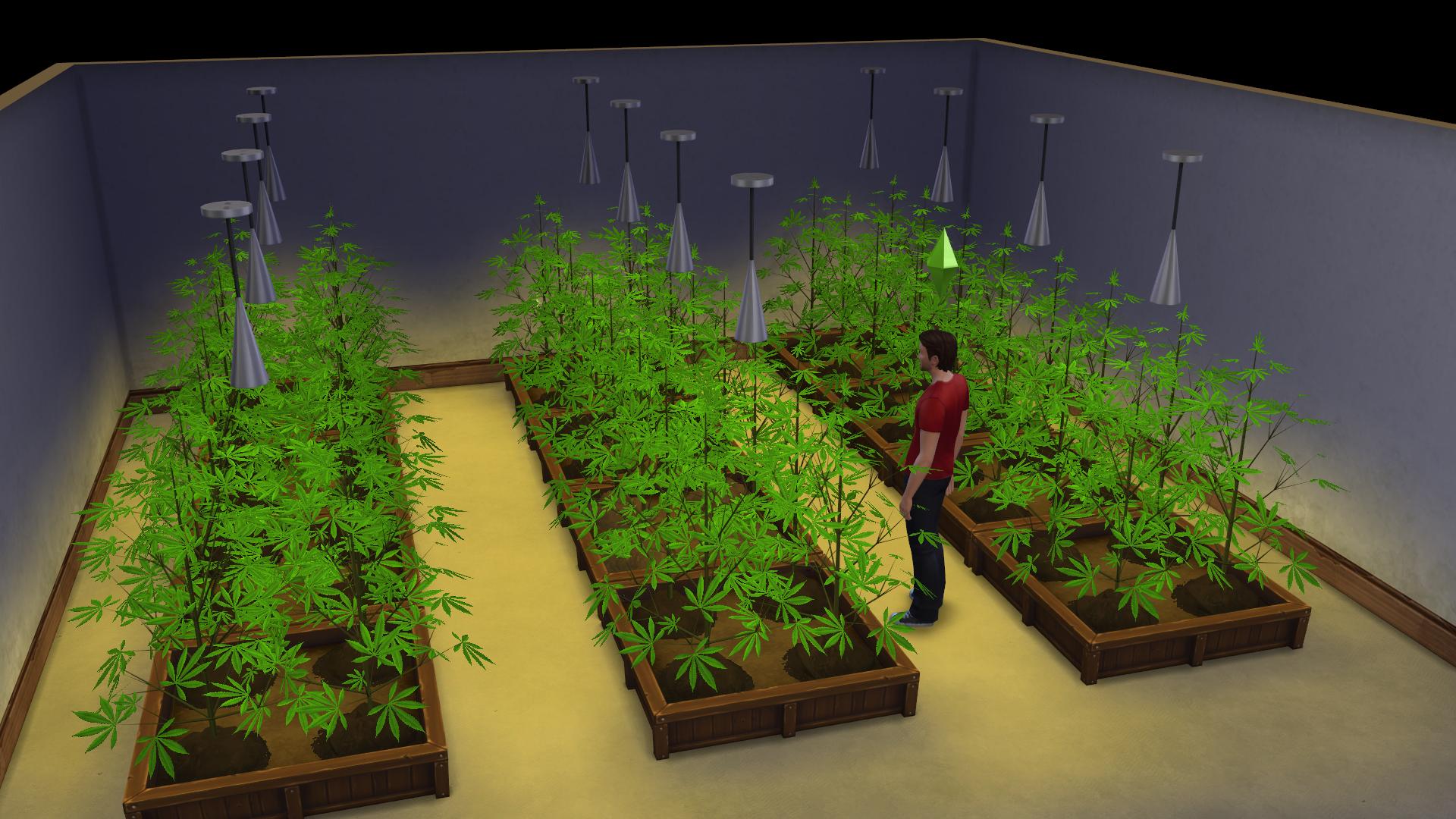 The Sims 4 'Basemental Drug' Mod Is The Ultimate Stoner Hack