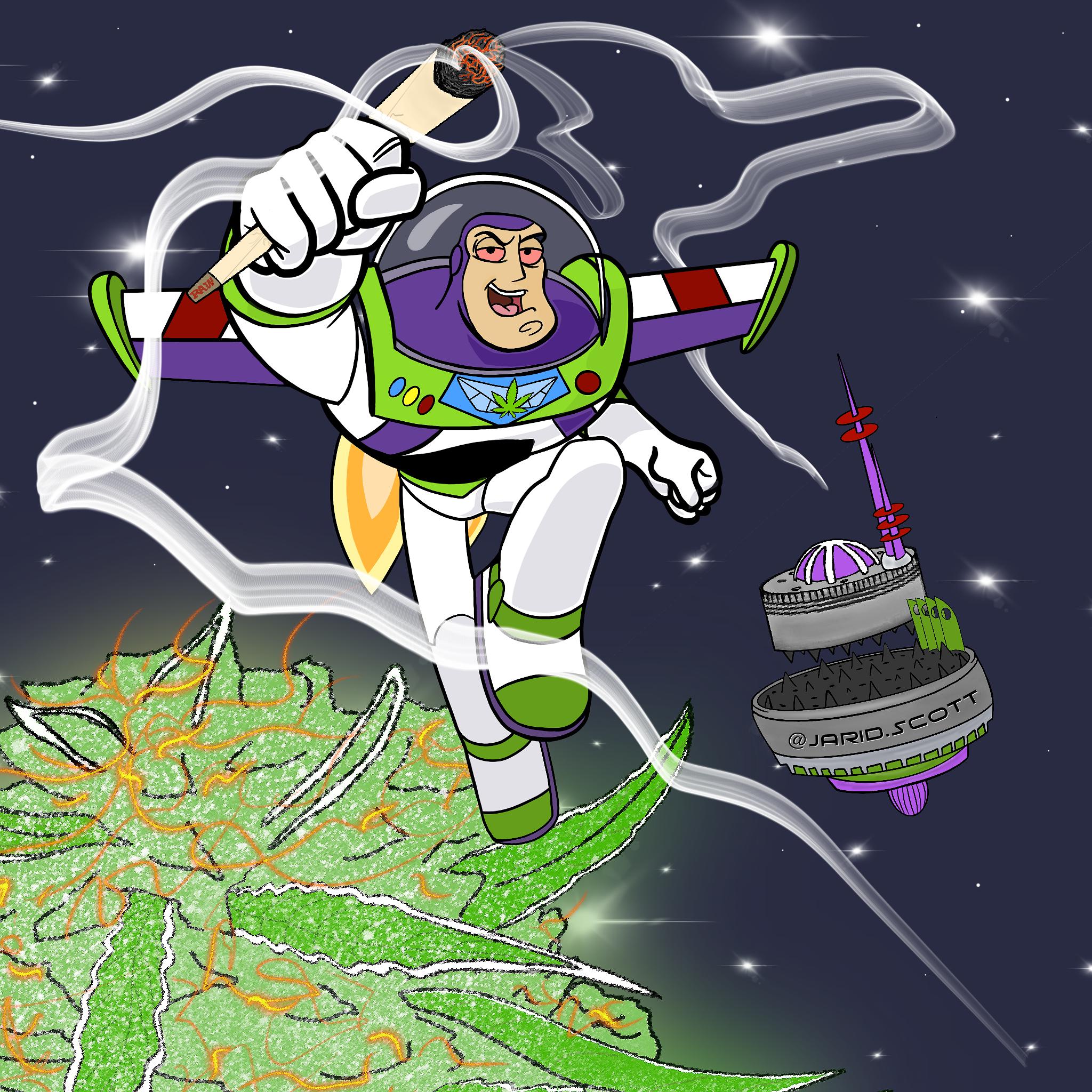 Your Favorite Cartoons Smoking Weed By Jarid Scott