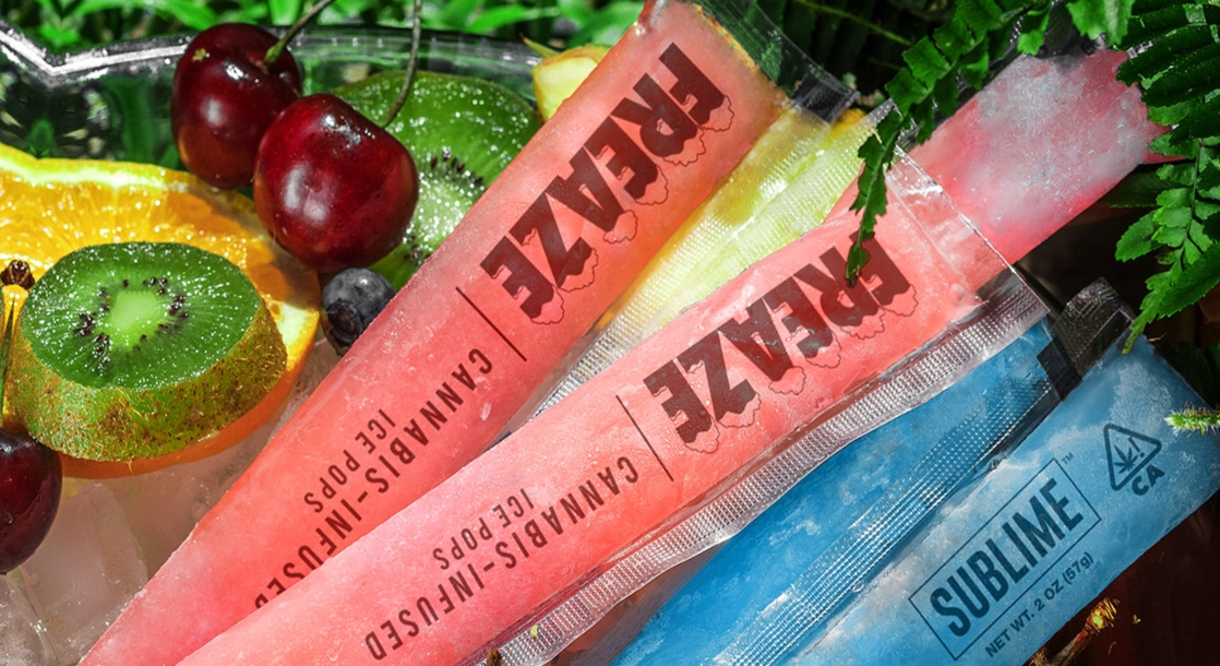 Weed Ice Pops Are Here to Cool Off This Insanely Hot Summer