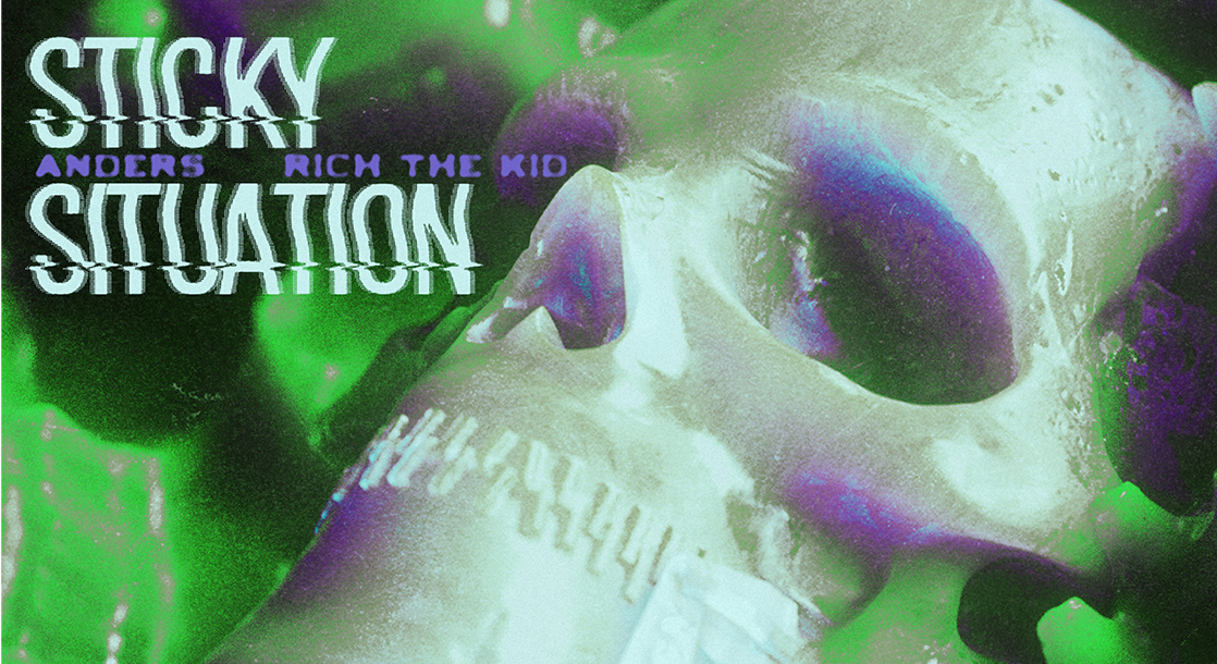 Sticky Situation: anders and Rich the Kid Rap Over Soundwaves Sampled from Weed