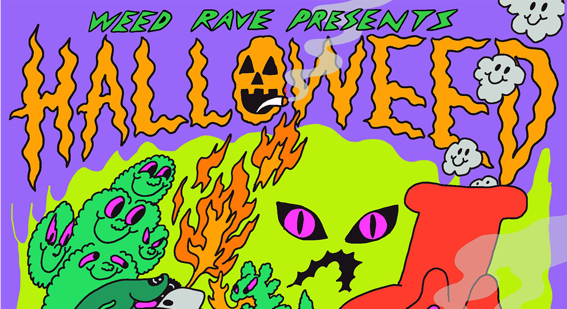 Weed Rave Is Throwing the Ultimate Halloween Party for Potheads