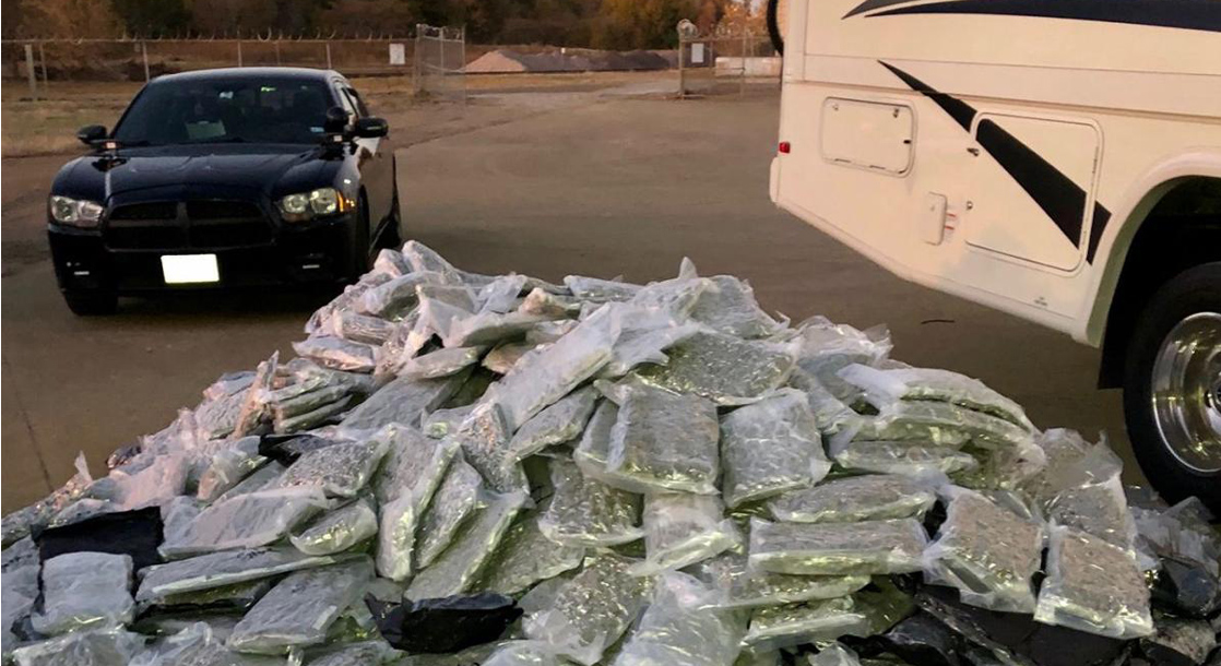 Cross-Country Drug Trafficker Busted Carrying 976 Pounds of Pot in Family RV
