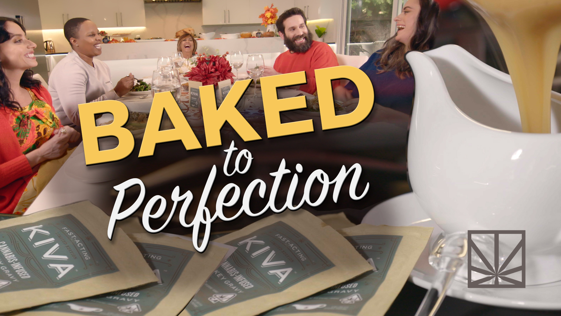 A MERRY JANE Friendsgiving with Kiva   BAKED TO PERFECTION