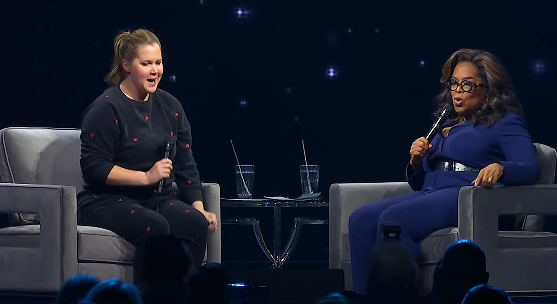 Oprah and Amy Schumer Want Gayle King to Get Really, Really Baked