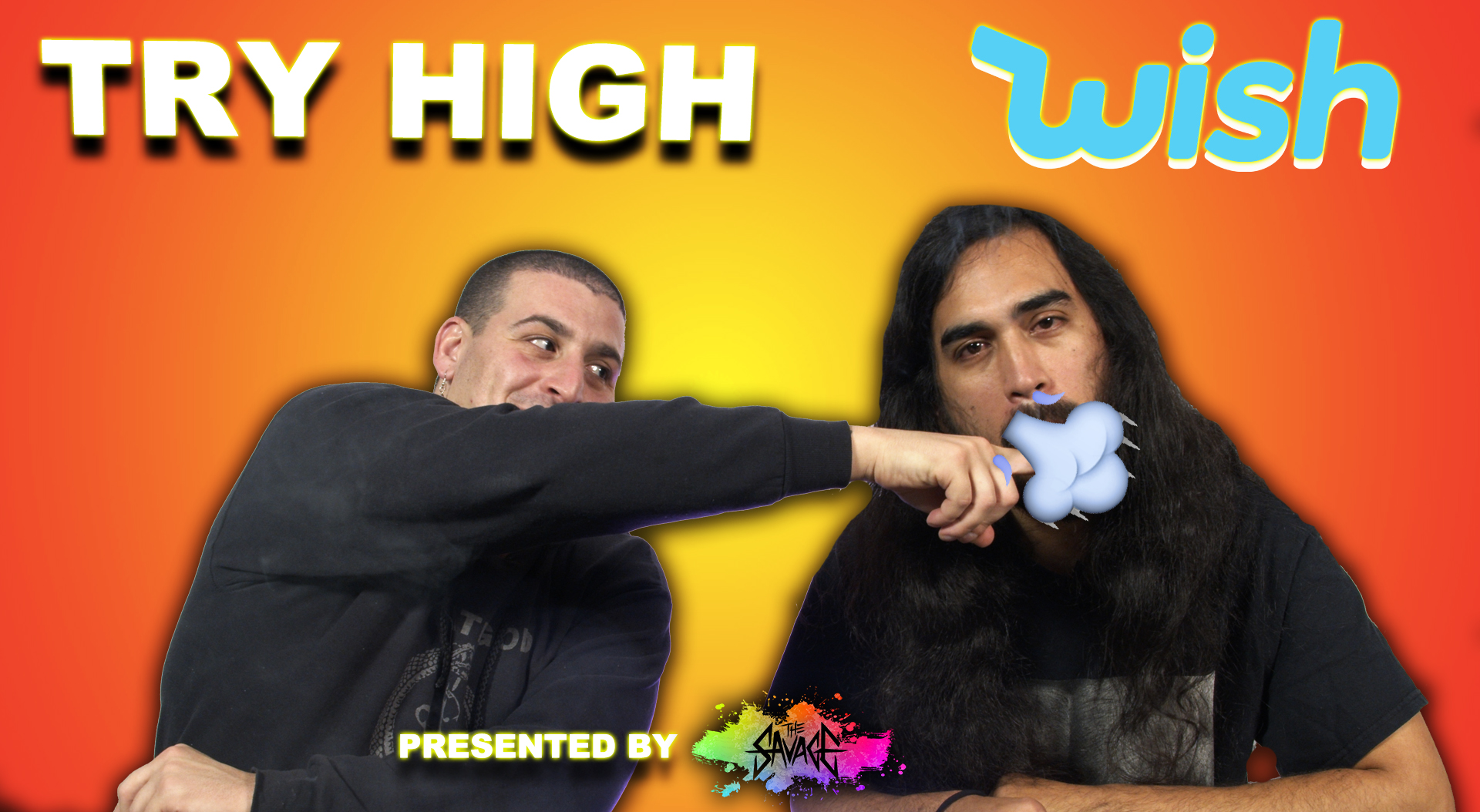 People Try a Weird Smoking Accessory from Wish | TRY HIGH