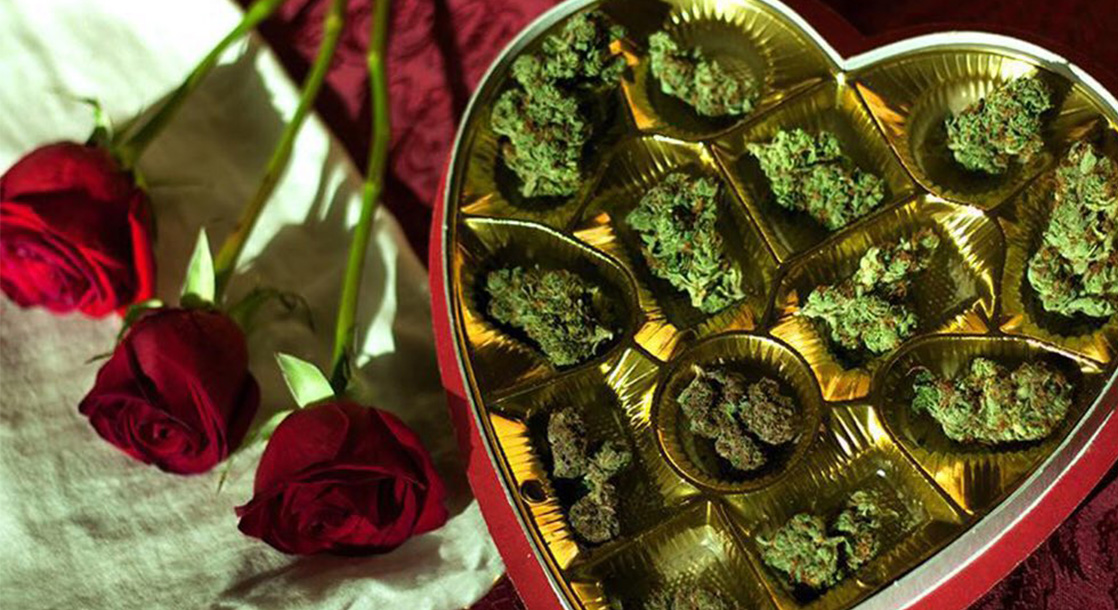 Austin Weed Advocates Celebrated Valentine's Day with a City Hall Smoke Out