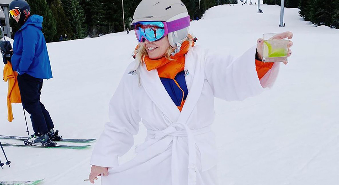 Chelsea Handler Celebrated Her Birthday By Skiing Stoned and Pantless