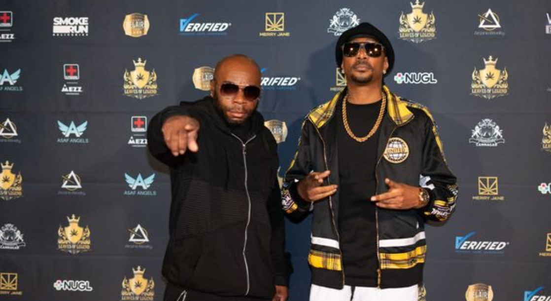 We Got LIT with Krayzie Bone at the Leaves of Legend Cannabis Launch Party