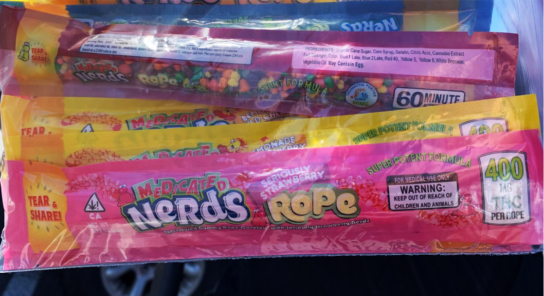 Two Kids Hospitalized After Eating THC-Infused Nerds Rope From Utah Food Bank
