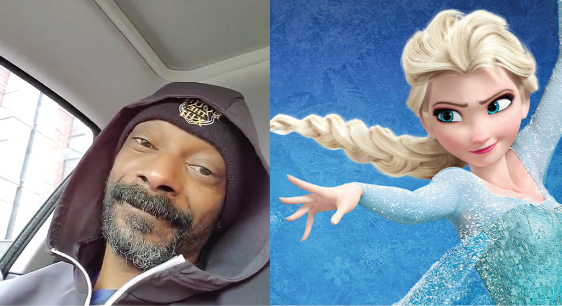 Snoop Dogg Bumped 'Frozen' to Liven Spirits Amid the Pandemic, and Elsa Replied
