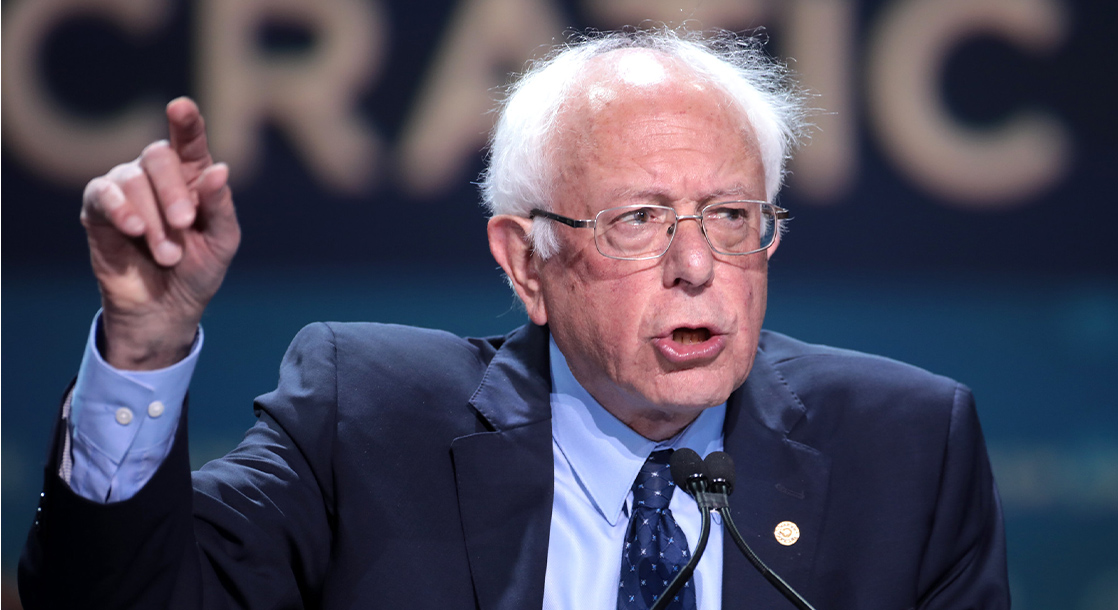 Bernie Sanders Says Legalizing Weed Is a Necessary Step for Real Police Reform