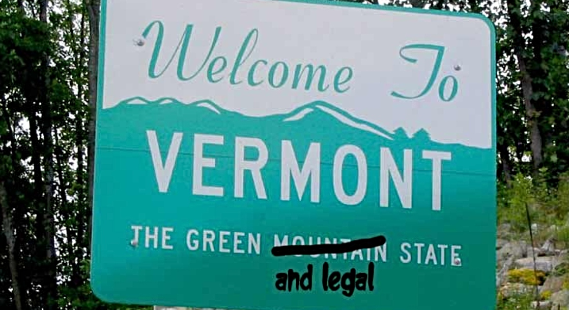 Vermont Democrats Make Legal Weed Sales and Decriminalizing Drugs Priorities for Election