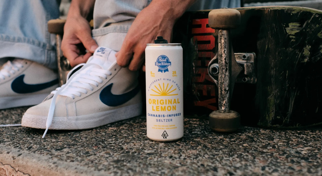 Pot's Blue Ribbon? Pabst Brewing Company Just Released Weed-Infused Seltzer