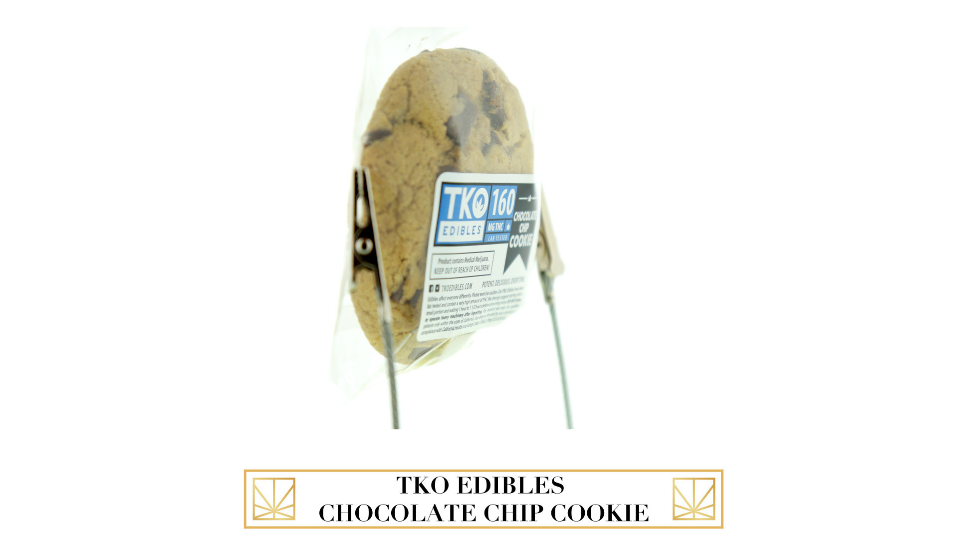 TKO Edibles Chocolate Chip Cookie