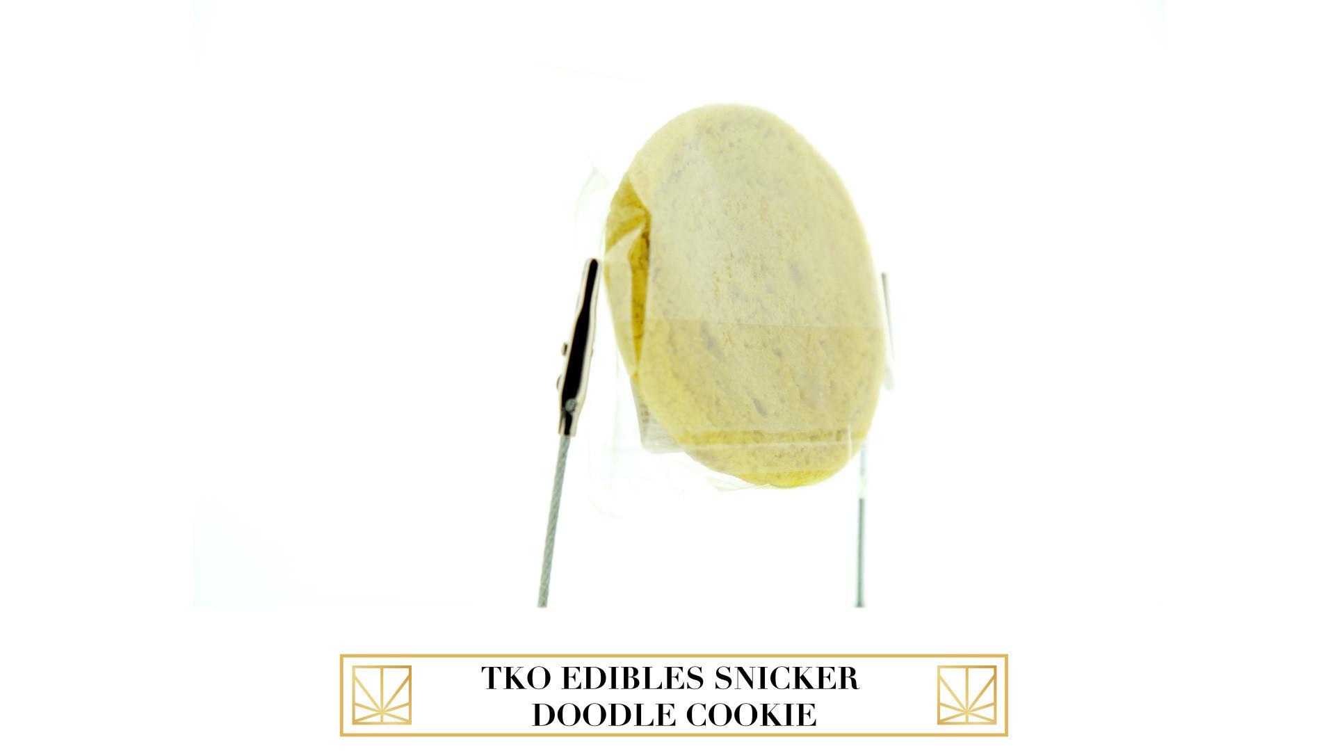 TKO Edibles Snickerdoodle Cookie