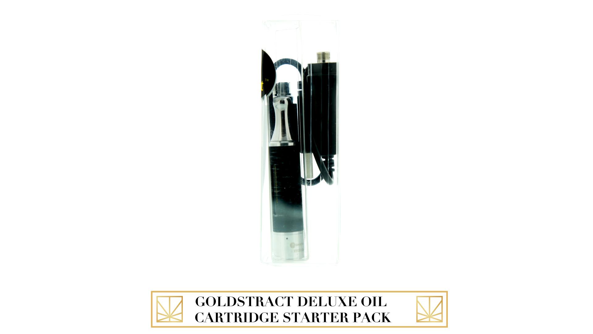 GoldStract Deluxe Oil Cartridge Starter Pack