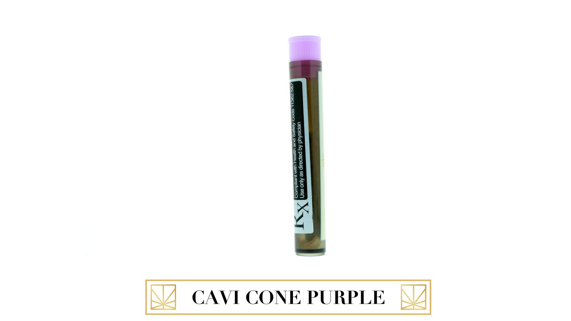 Caviar Gold Cavi Cone - Grape