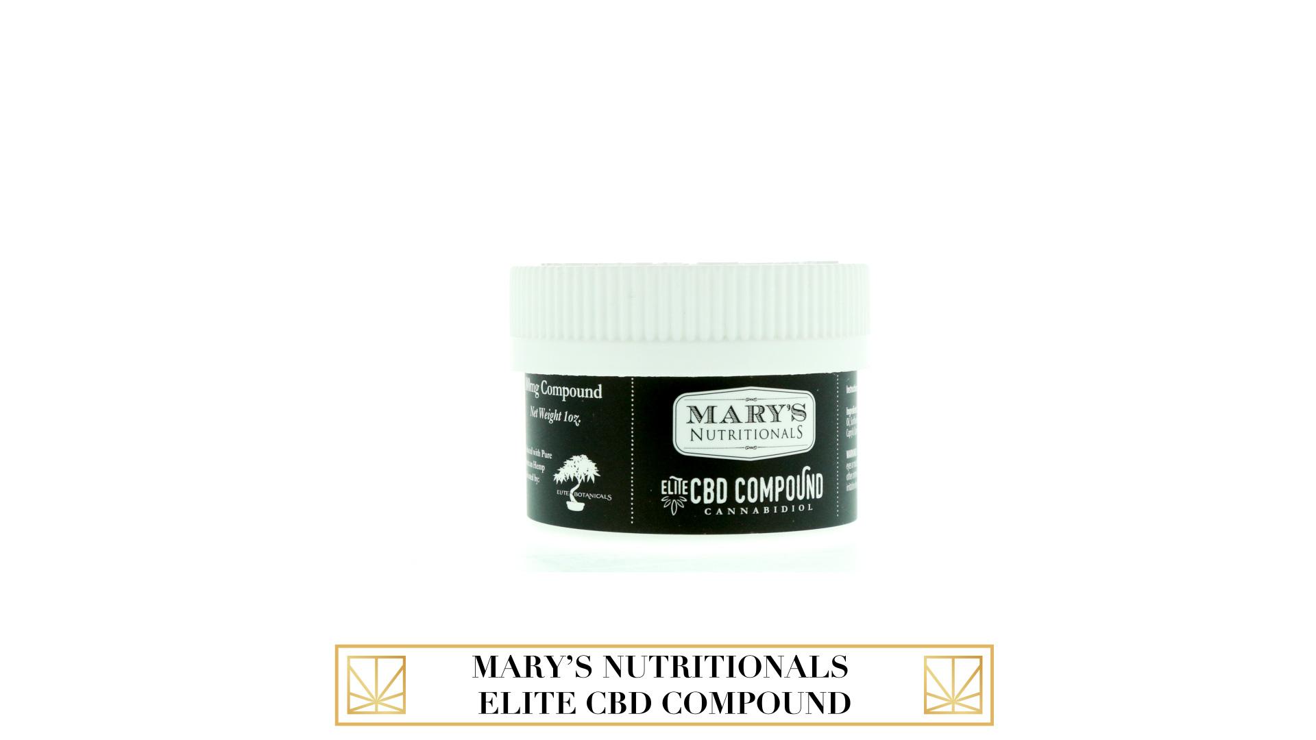 Mary's Nutritionals Elite CBD Compound