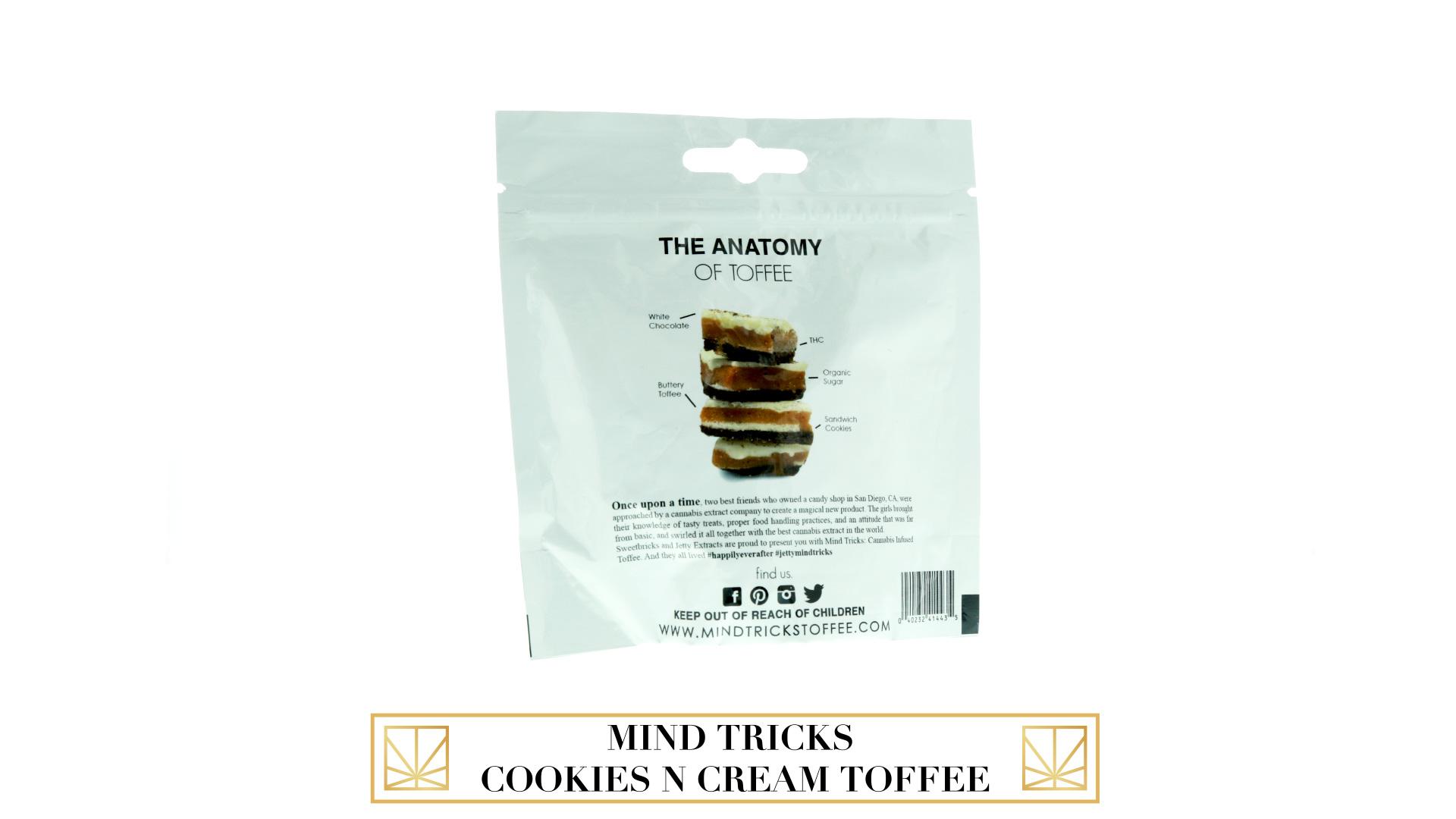 Mind Tricks Cookies N Cream Toffee
